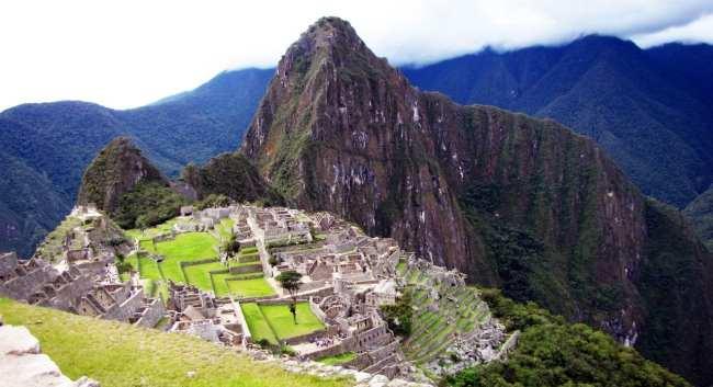 Roteiro do Peru - Mais uma foto da bela Machu Picchu