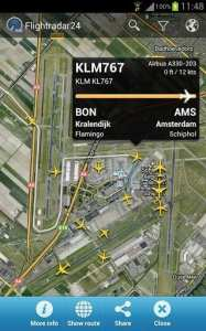 FlightRadar24 PRO - imagens de satélite