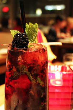 Comer bem em Montreal - Maison Boulud - de quem é esse drink?