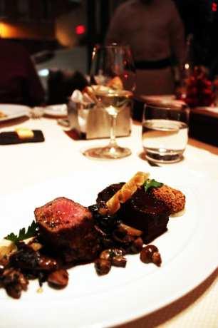 Comer bem em Montreal - Maison Boulud - deliciosa carne