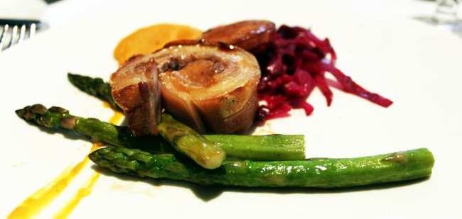 Comer bem em Montreal - Verses Restaurant - carne de porco