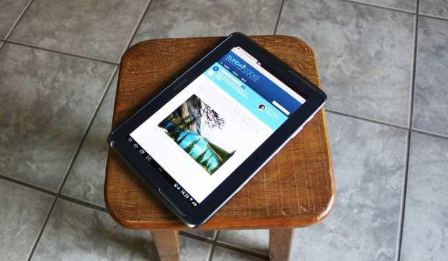 Samsung Galaxy Note 10.1 - no banquinho oficial das fotos :P