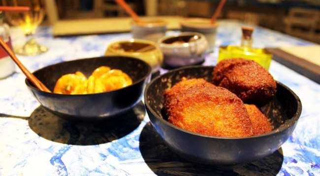 Restaurantes em Salvador - Casa de Tereza - acarajé e camarão seco