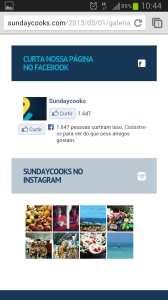 Sundaycooks SundayMobile - Smartphone de pé 02