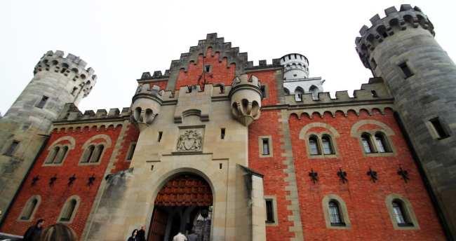 Castelos da Alemanha - Frente do Castelo de Neuschwanstein
