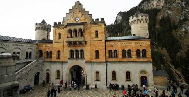Castelos da Alemanha - Interior do Castelo de Neuschwanstein