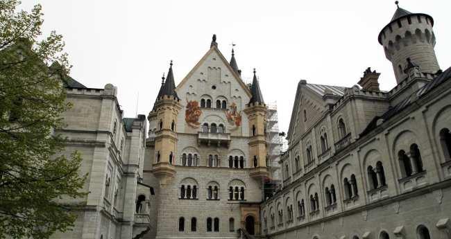 Castelos da Alemanha - Outra vista do interior do Castelo de Neuschwanstein
