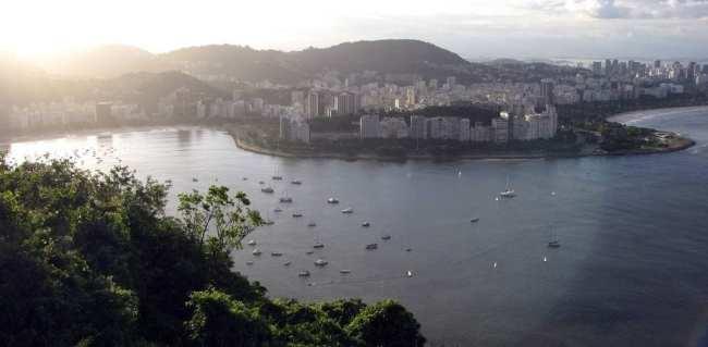 Central do Futebol no Google+: Vista do Morro da Urca - Rio de Janeiro