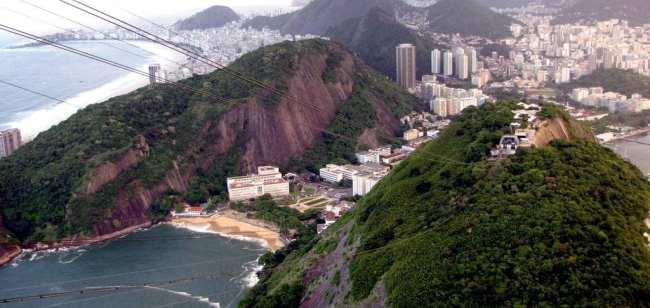 Central do Futebol no Google+: Vista do bondinho do Pão de Açúcar - Rio de Janeiro