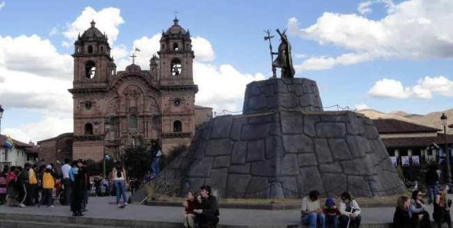 Inti Raymi - Inca na Plaza de Armas