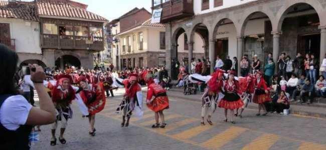 Inti Raymi - Danças típicas