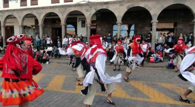 Inti Raymi - Danças típicas 02