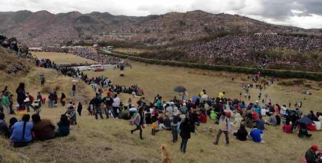 Inti Raymi - Sacsayhuamán lotada