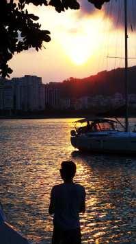 Roteiro de Botecos no Rio de Janeiro - Pôr do Sol na Urca 02