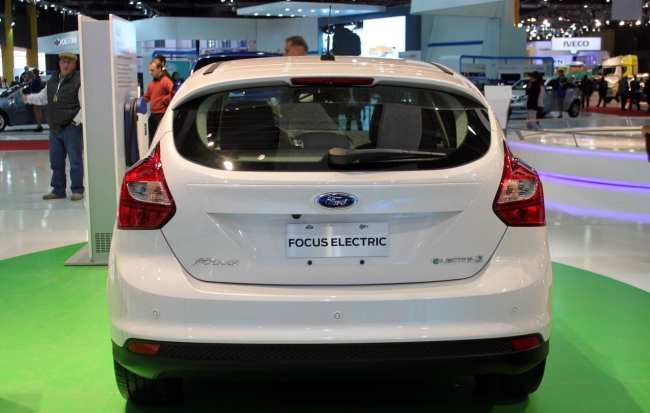 Salão do Automóvel - novo focus hatchback elétrico