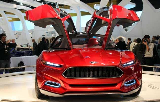Salão do Automóvel - Ford Evos Concept