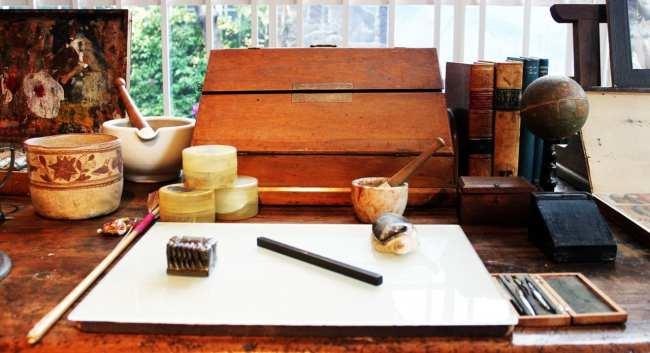 Museu Frida Khalo - Equipamentos de Pintura
