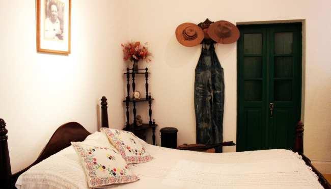 Museu Frida Khalo - Quarto