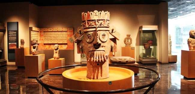 Museu Nacional de Antropologia - Escultura (o que será isso?)