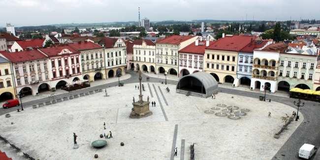 Novy Jicín - Praça central