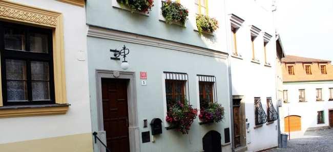 Olomouc - flores na sacada