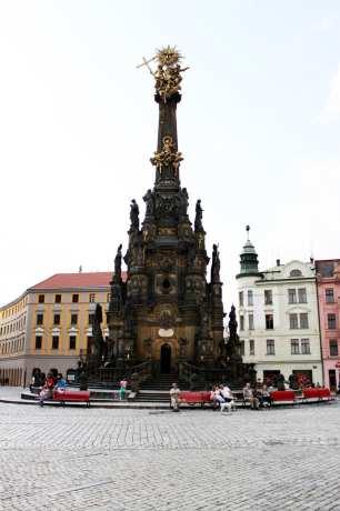 Olomouc - Holy Trinity Column 01