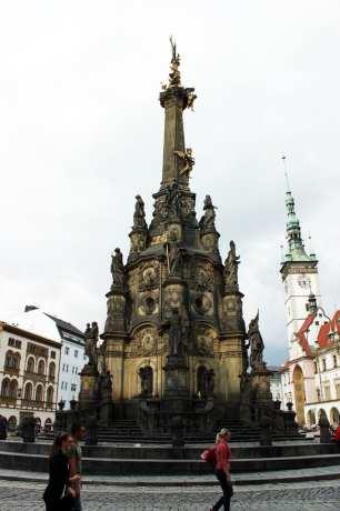 Olomouc - Holy Trinity Column 02
