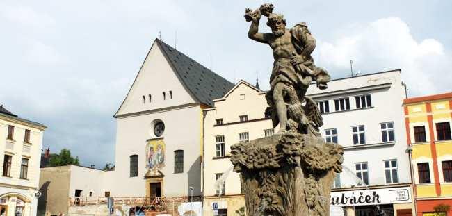 Olomouc - Fonte barroca
