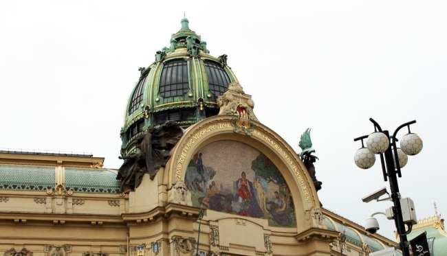 Road trip pela República Tcheca - Prédio da Orquestra Sinfônica de Praga