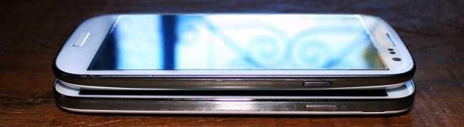 Samsung Galaxy S4 - mesmo tamanho do S3