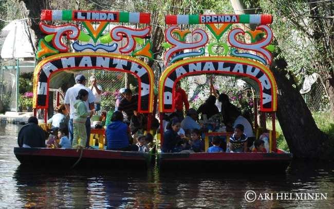 Barquinhos de Xochimilco 02