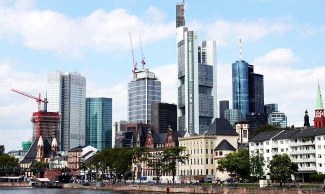 Onde ficar em Frankfurt - Skyline da cidade