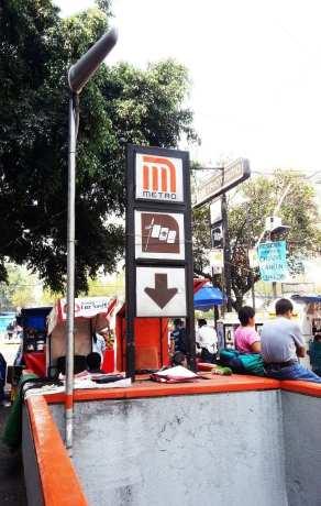Como usar o metrô da Cidade do México - Indicação de metrô