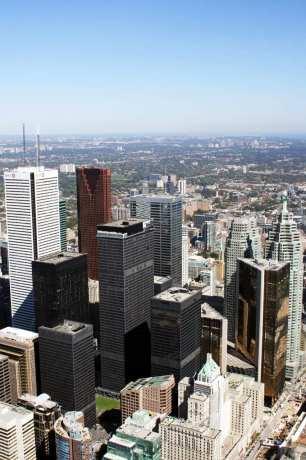 O que fazer em Toronto - Vista da CN Tower