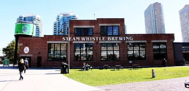 O que fazer em Toronto - Cervejaria Steam Whistle