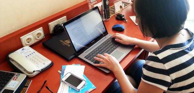 Review Ultrabook Samsung Série 5 - Trabalhando durante a viagem