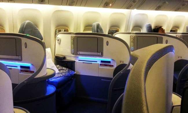 Como é voar de Air Canada - Business First