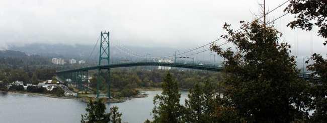 Dicas e roteiros de Vancouver - Pegando uma chuva