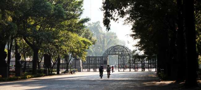 Roteiro pelo Bosque de Chapultepec - entrada