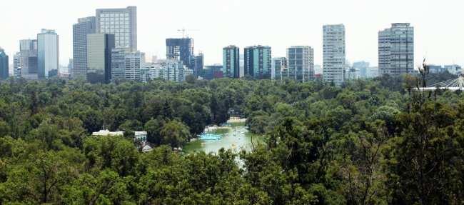 Roteiro pelo Bosque de Chapultepec - Vista do castelo