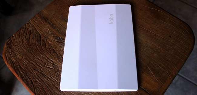 eReader Kobo Aura HD - Parte traseira do aparelho