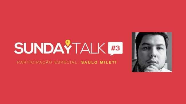 SundayTalk #3: Saulo Milete falando sobre sua viagem para a Itália