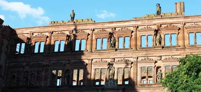 Guia de Heidelberg na Alemanha - Outras ruínas do castelo