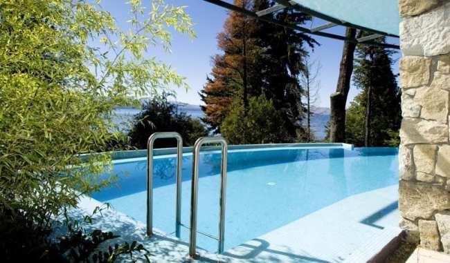 Ode ficar em Bariloche: os melhores hotéis - Piscina do Design Suites