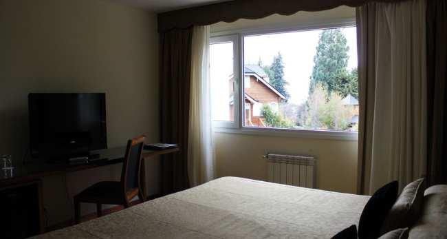 Ode ficar em Bariloche: os melhores hotéis - Villa Huinid Lodge vista do Quarto