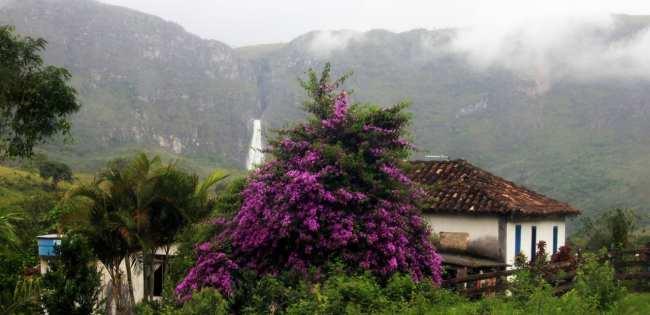 Serra da Canastra - Vista da Casa do Tio Zezico