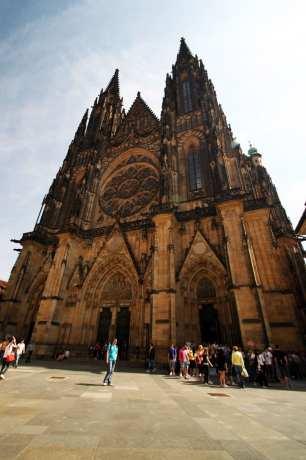 Castelo de Praga - Catedral de São Vito 1