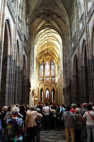 Castelo de Praga - Interior da Catedral de São Vito 1