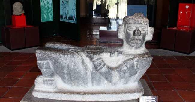 Pirâmides de Tula no México - Museu