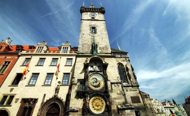 Relógio Astronômico de Praga - Outra da Old Town Hall